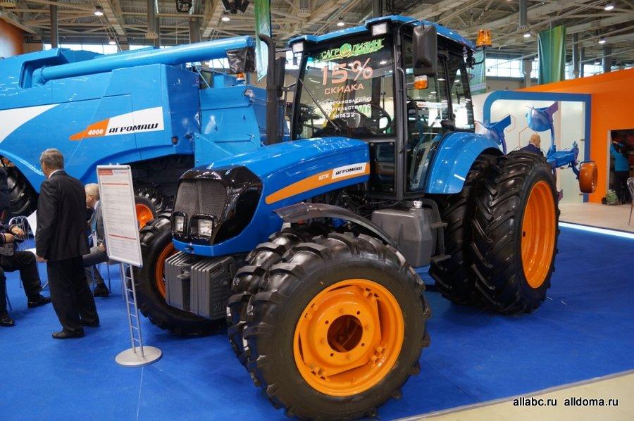 Последние разработки АГРОМАШ на крупнейшей международной специализированной выставке сельхозтехники «АгроТек Россия-2014».