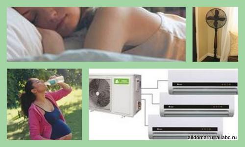 Высокие температуры особенно опасны для беременных.