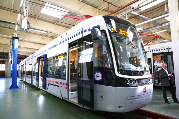 Предстоящий выставочный промышленный сезон  не может обойти без внимания выставку «Иннопром-2014», где будет продемонстрирован ультрасовременный трамвай производства «Уралвагонзавод»